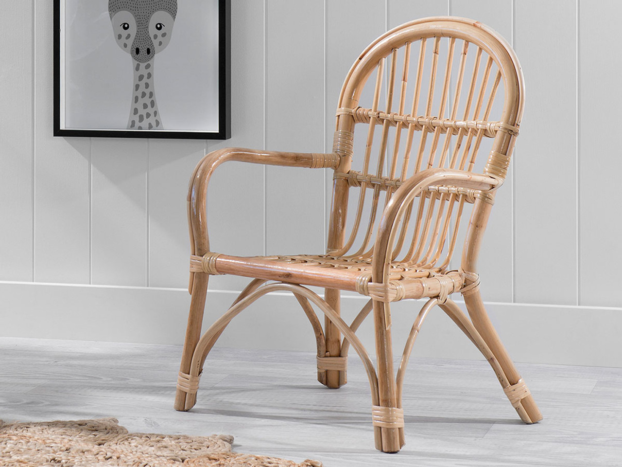 Kids Rattan Armchair Kids Furniture Mocka Au
