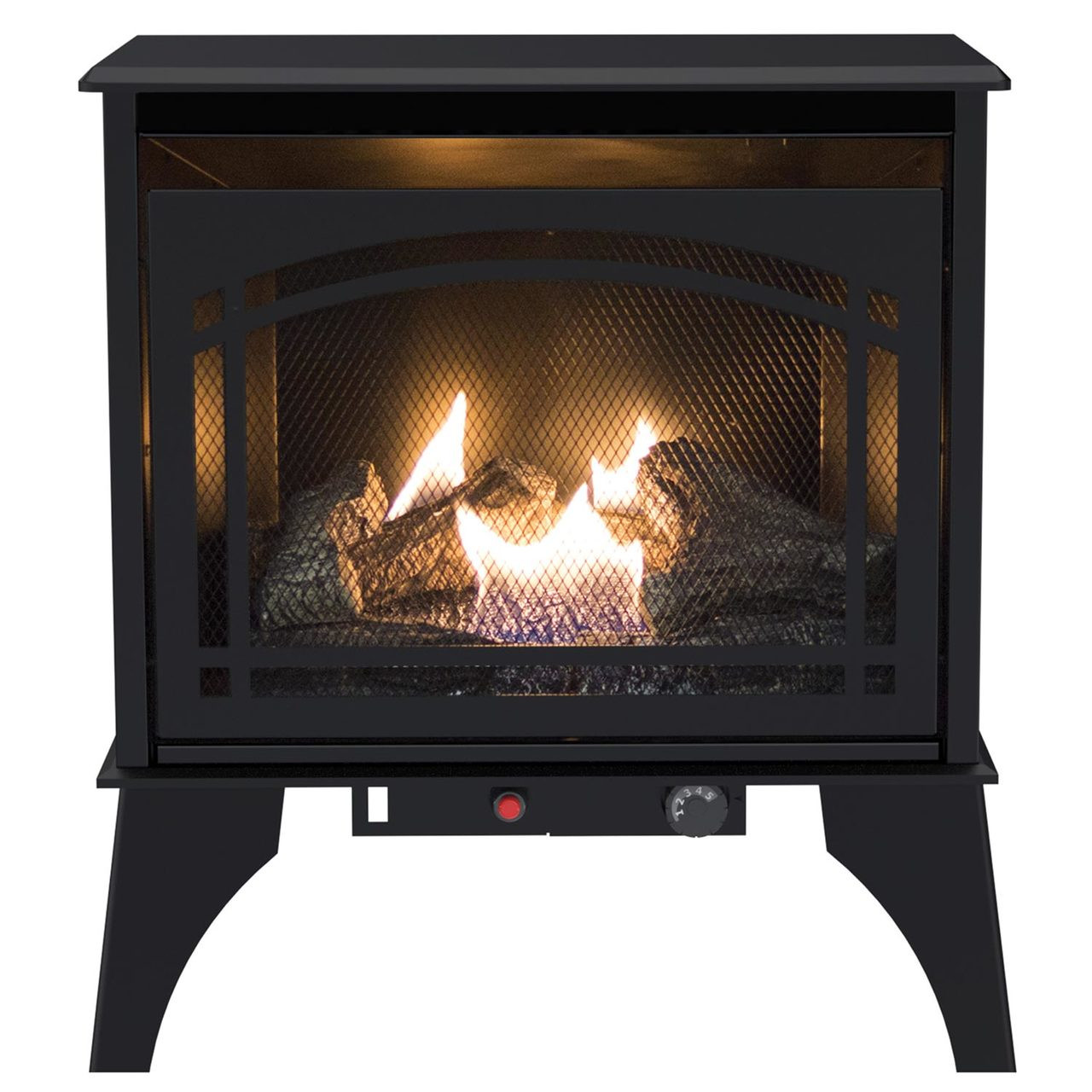 Propane Fireplace Installation Kozy World Gsd2210 The Phoenix Vent Free 20 000 Btu Propane Lp Or Natural Gas Ng Stove