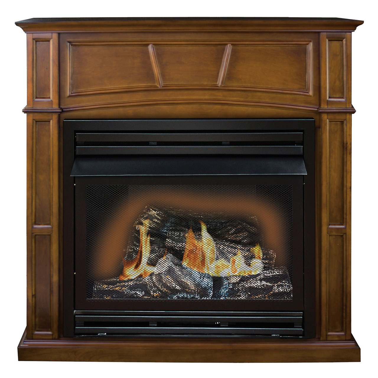 Btu Gas Fireplace Comfort Glow Gfd3281r The Savannah Remote Controlled Vent Free Gas Fireplace 30 000 Btu