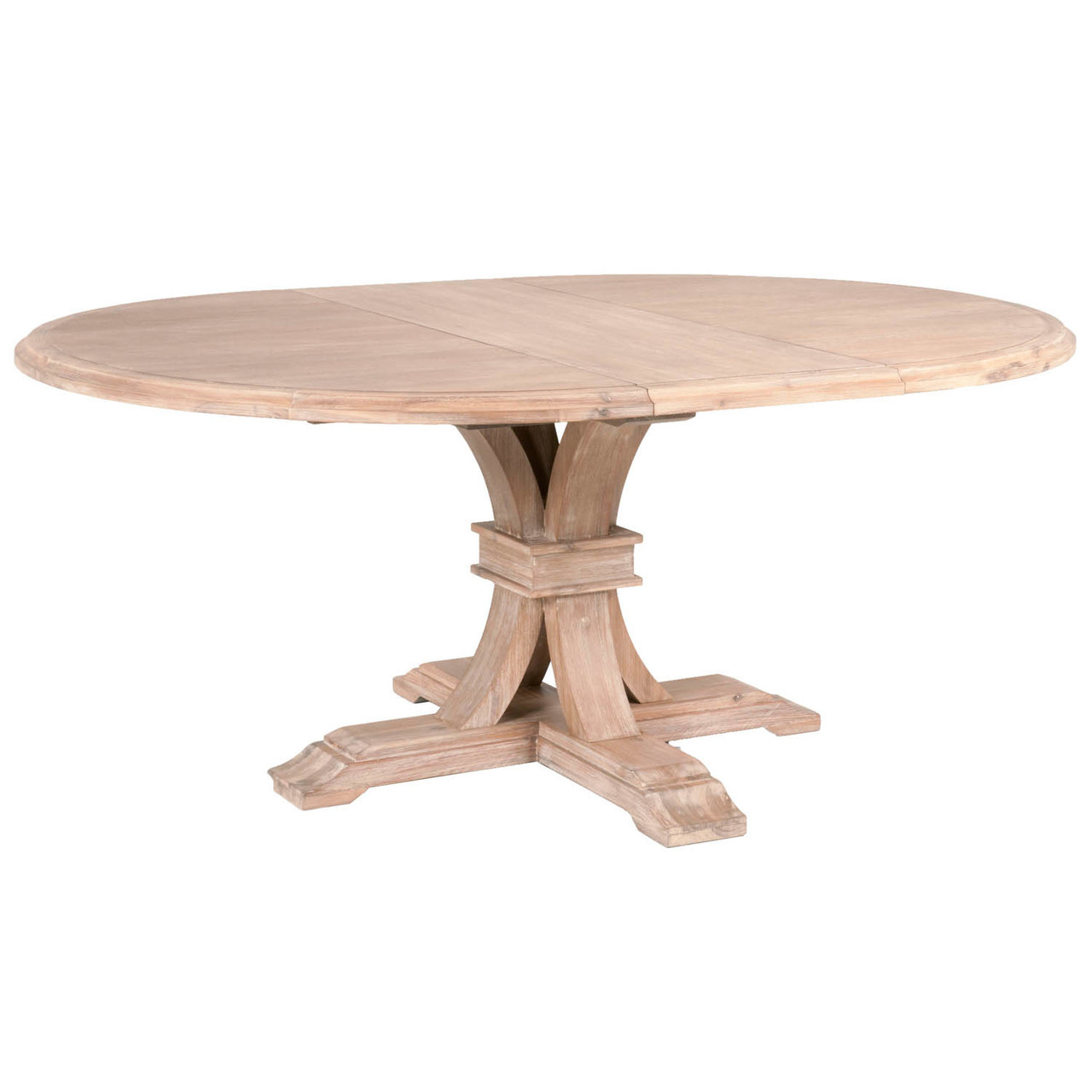Round Dining Table With Extensions Novelle 54