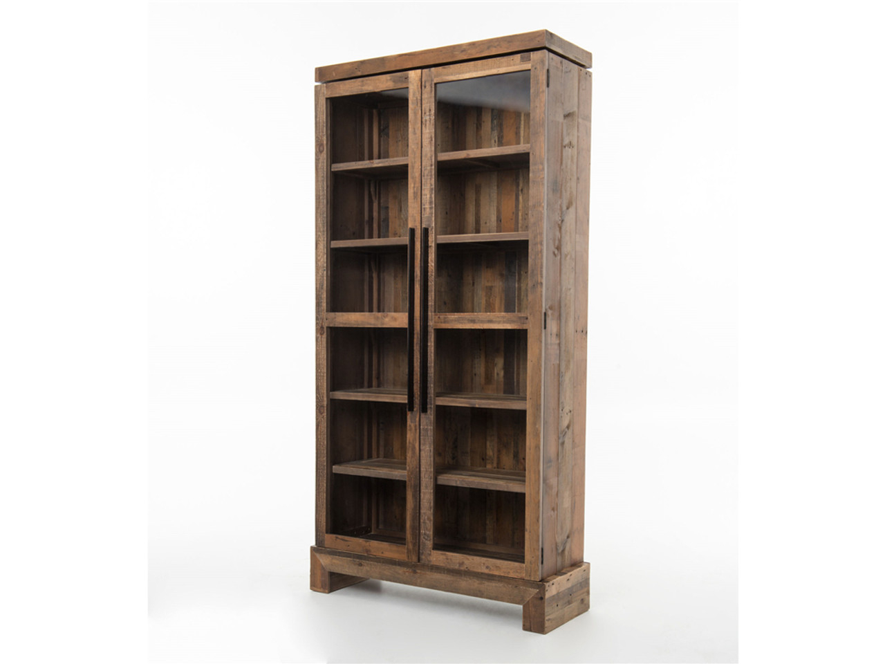 Bookcase Cabinet Angora Handcrafted Wood Bookcase Cabinet