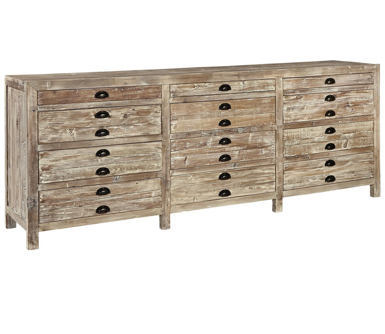 12 Drawer Chest Of Drawers Apothecary Reclaimed Wood 12 Drawer Storage Chest