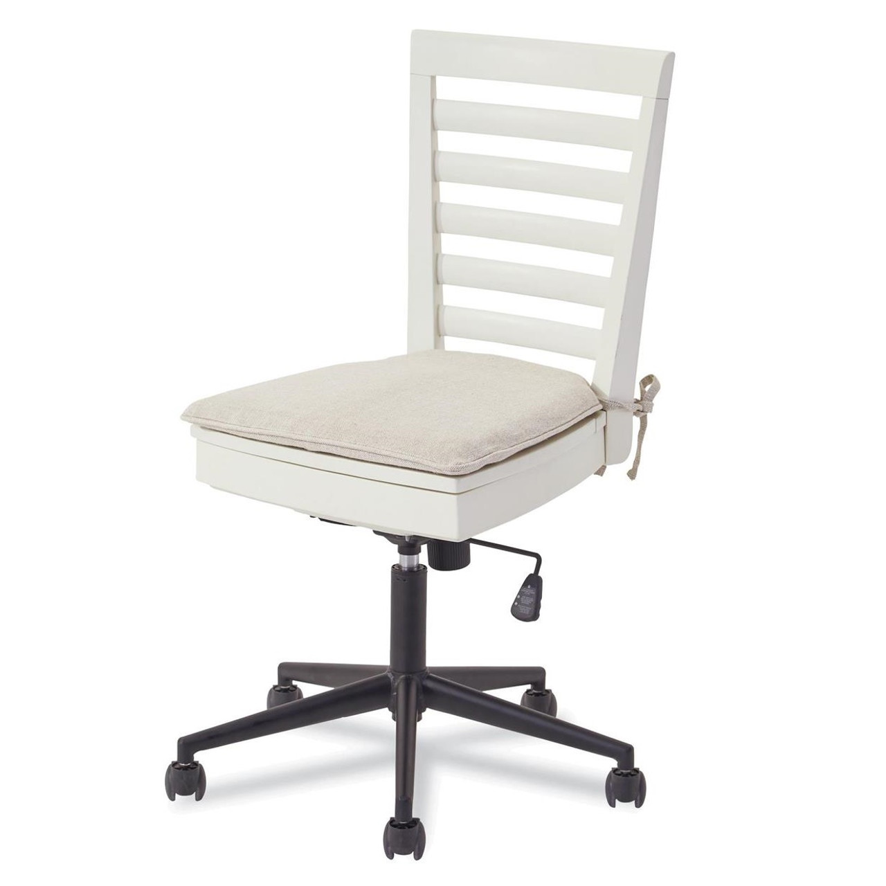 Desk Seat Myroom Modern Swivel Kids Desk Chair White