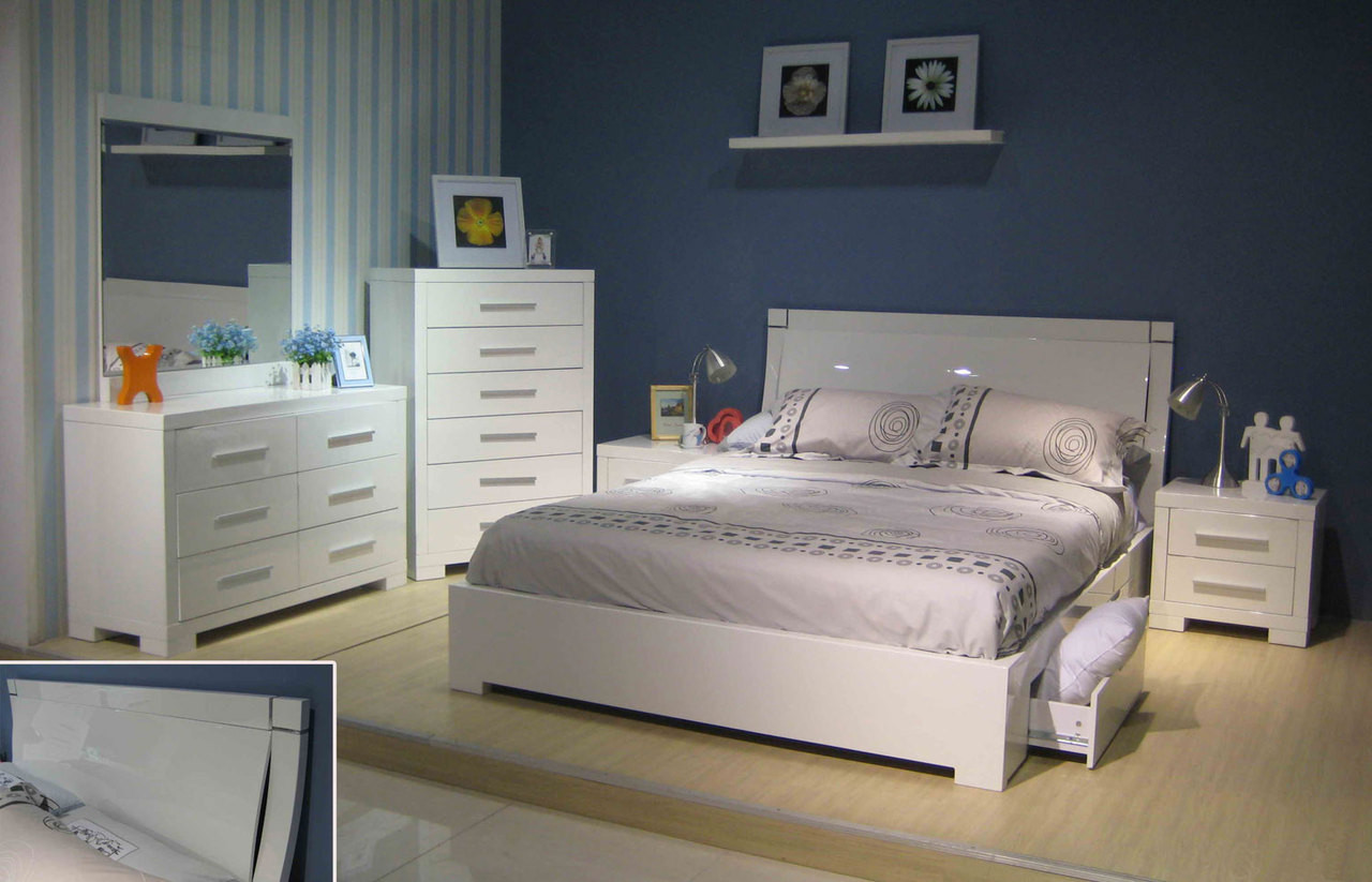 Storage Beds Australia Prima King 5 Piece Bedroom Suite With Underbed Storage Drawers Be