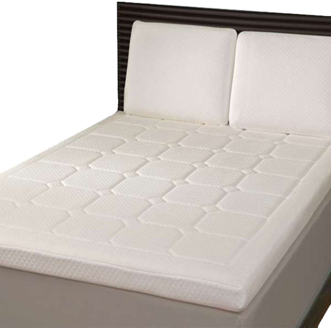 King Size Mattress Australia King Grand Luxury Quilted Memory Foam Mattress Topper Mtq 5