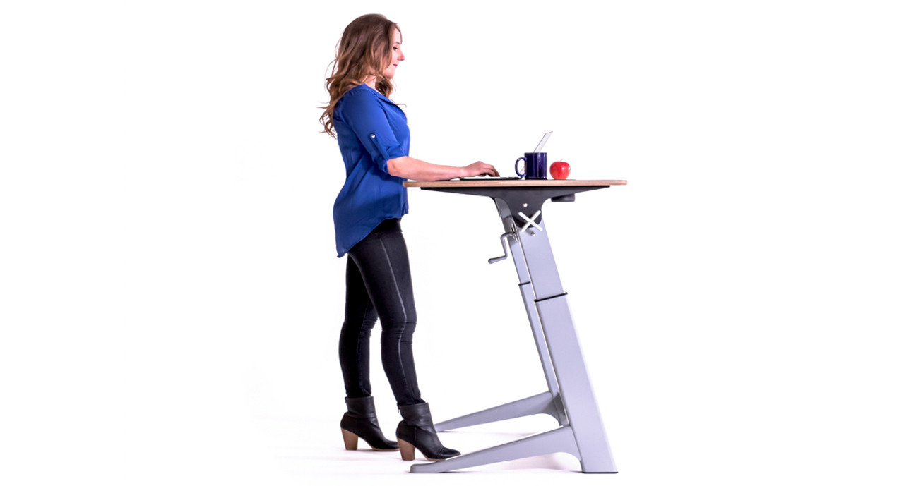 Adjustable Height Drafting Table Focal Locus Standing Desk