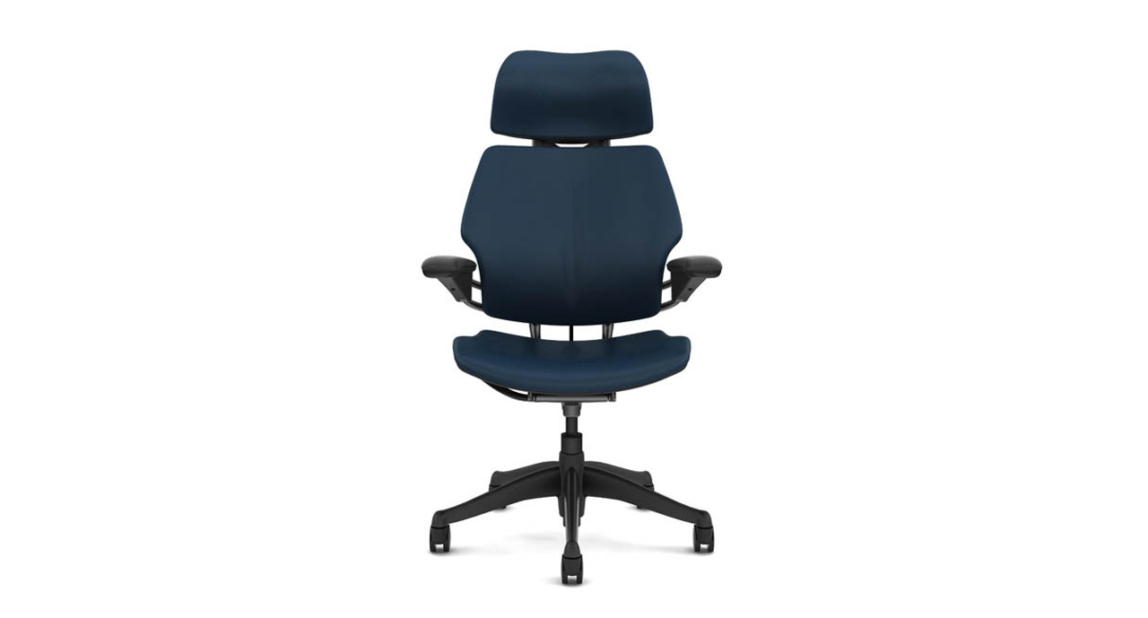 Freedom Furniture Head Office Humanscale Freedom Chair In Leather With Headrest