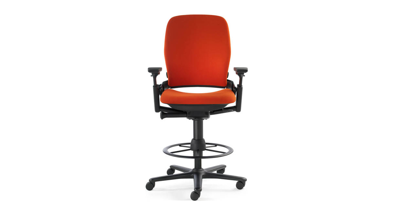 Stool Chair Steelcase Leap Drafting Stool
