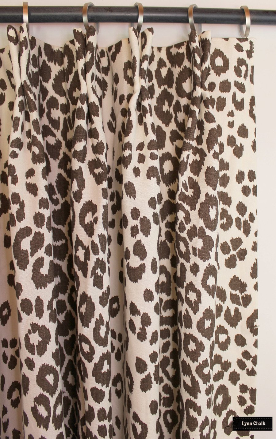 How Many Yards Of Fabric For Curtains On Sale 65 Off 3 Yards Schumacher Iconic Leopard Brown Fabric Remnant 3 Yard Continuous Piece 176450