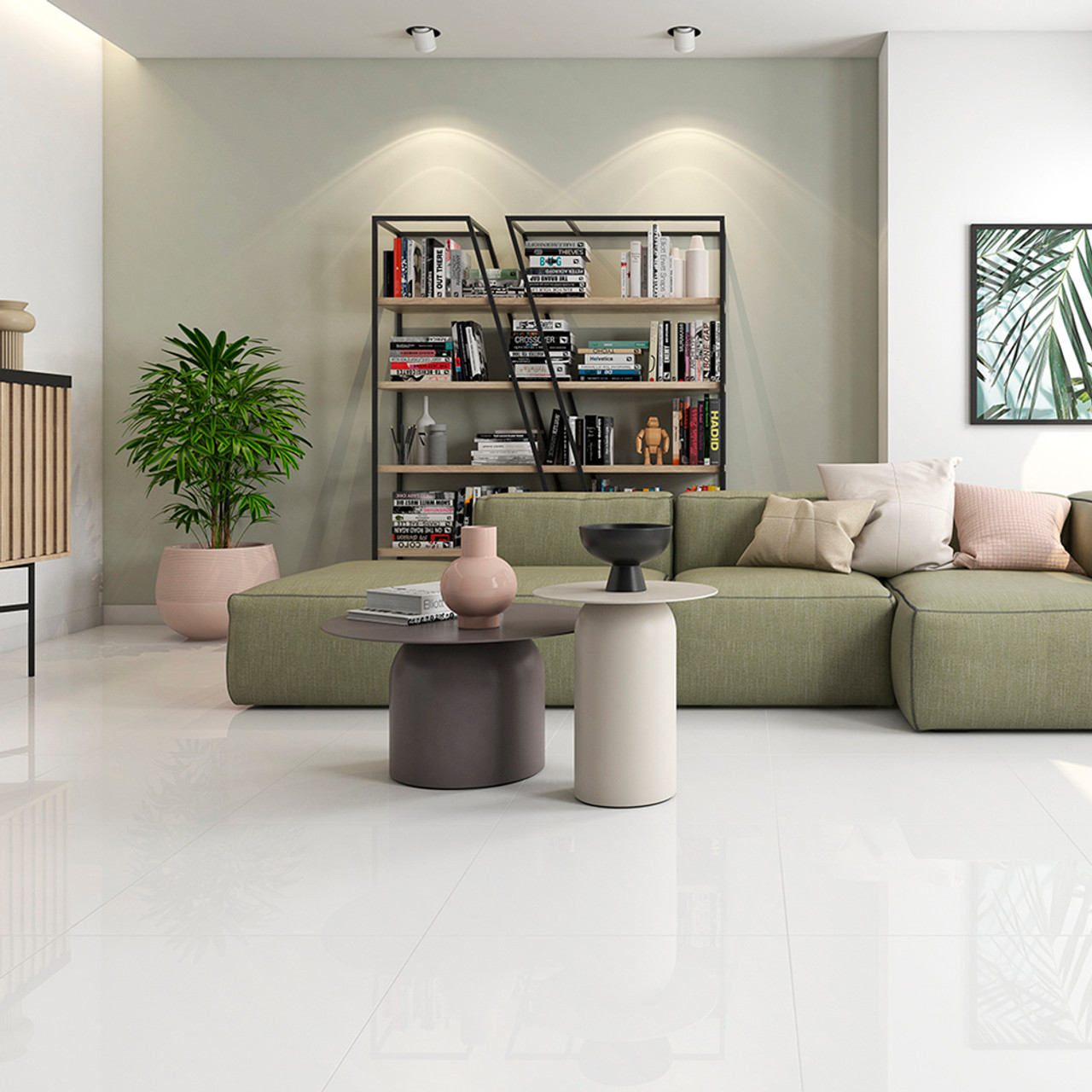Ice White Porcelain Wall Floor Tiles In Liverpool