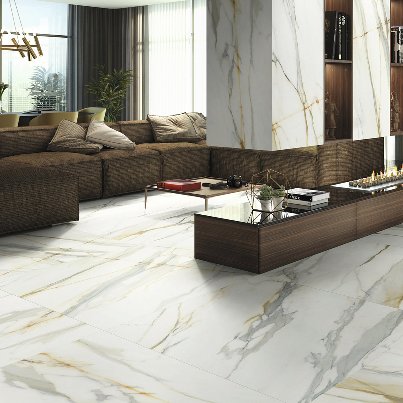 Calacatta Borghini Porcelain Wall Floor Tiles In Liverpool