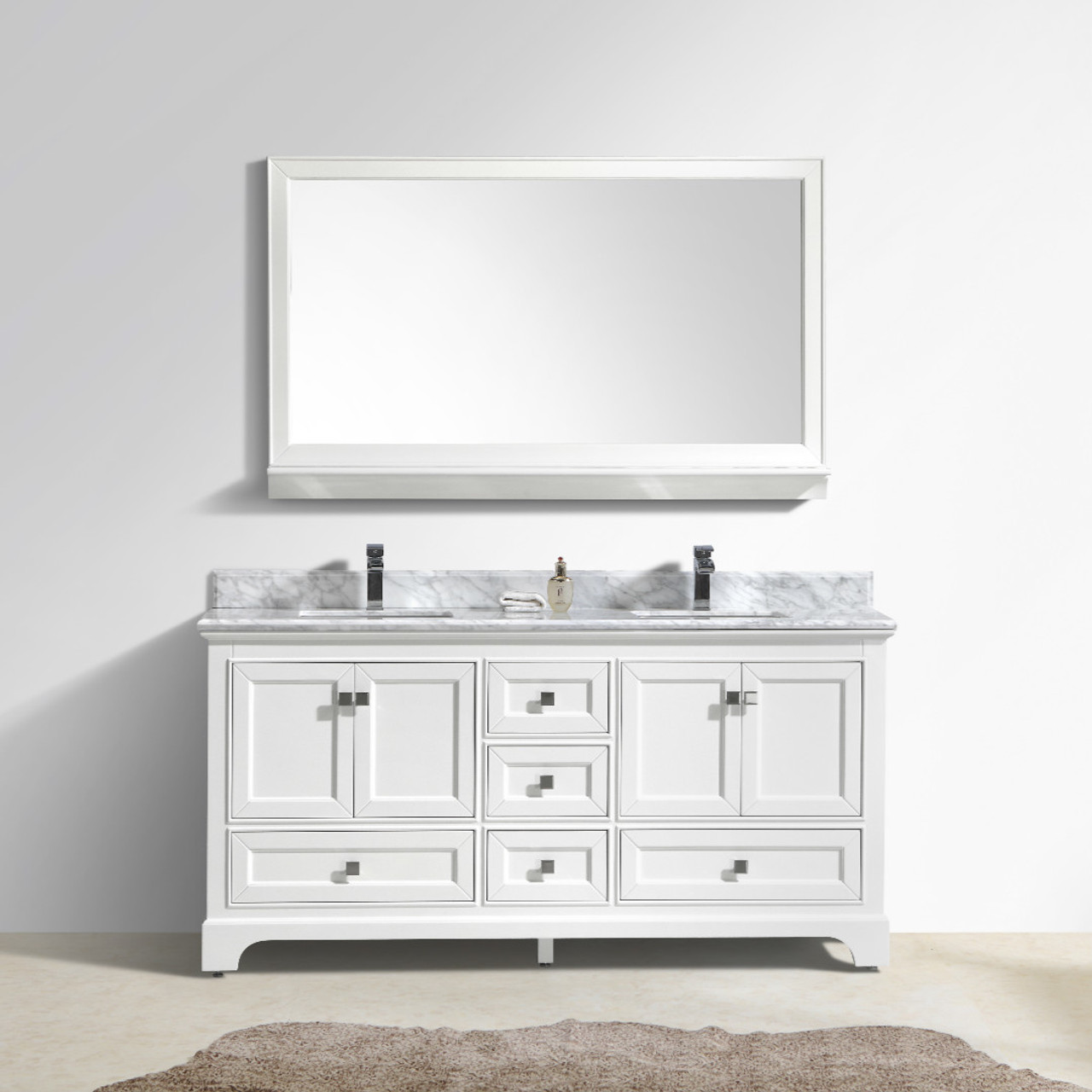 Bathroom Vanity 72 Double Sink Maple 72
