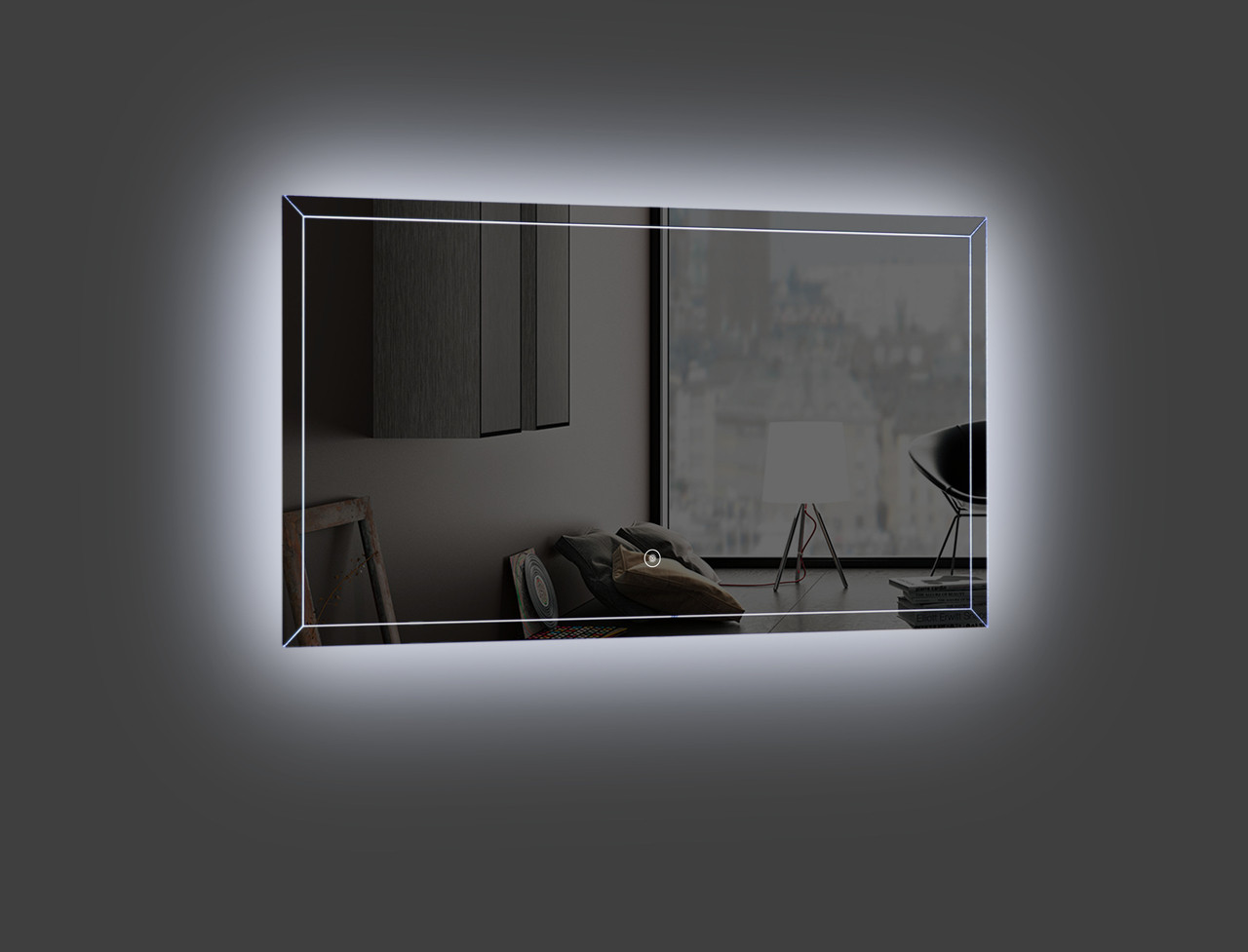 Light Bathroom Mirror Fero 40 Inch Wall Mounted Bathroom Mirror With Led Light