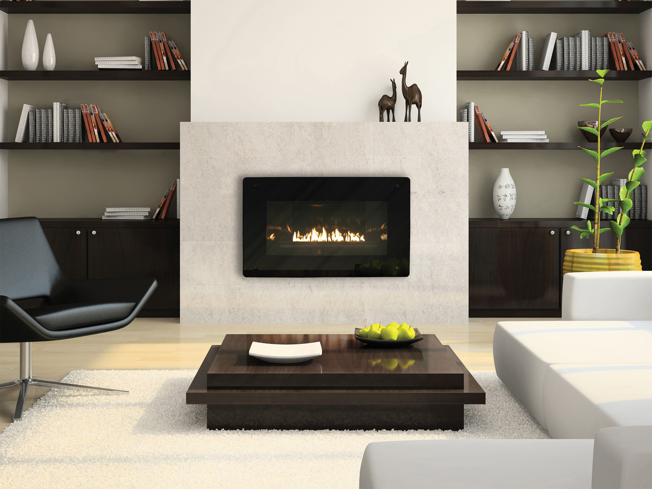 Free Fireplace Insert Empire Loft Vent Free Cleanface Insert Fireplace With Barrier Zero Clearance Millivolt Control With On Off Switch Vfl20in32