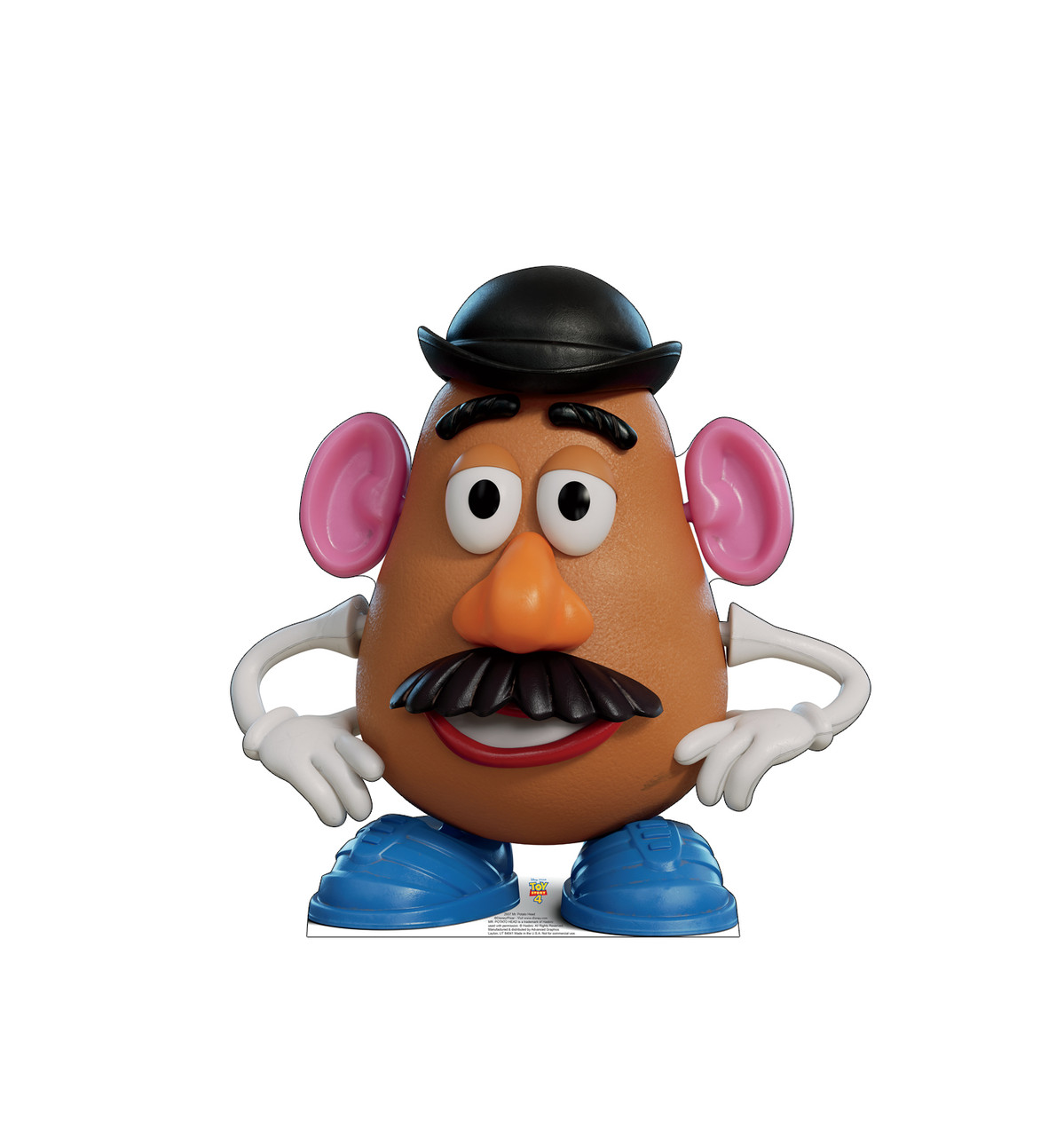 Mr Potato Head Life Size Toy Story 4 Cardboard Cutout