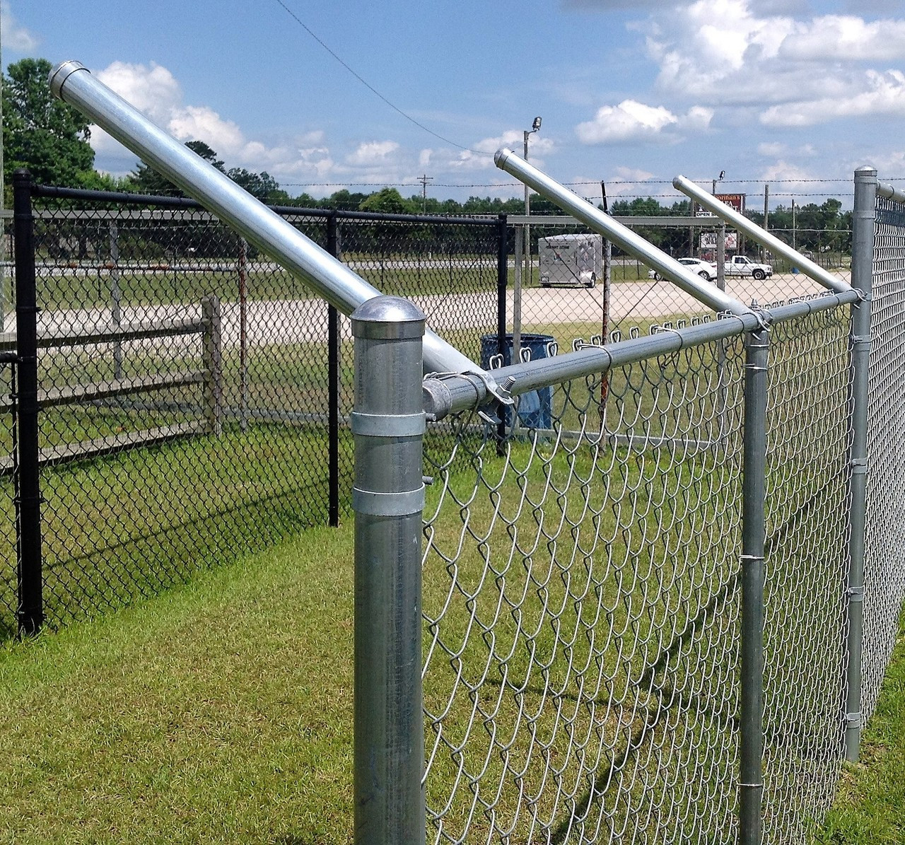 Wire Fencing Extend A Post Extensions For Chain Link Fence Set Of 9