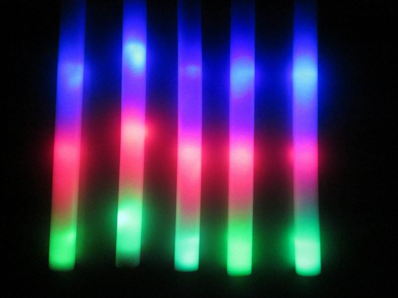 Led Glow Sticks Led Foam Sticks 18 Inch