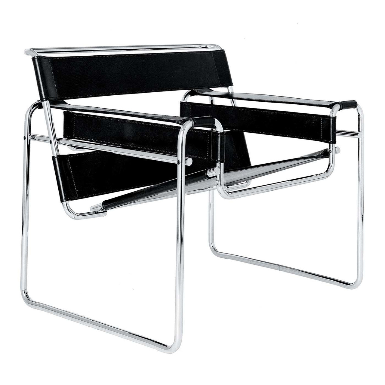 Marcel Breuer Replica Wassily Lounge Chair By Marcel Breuer