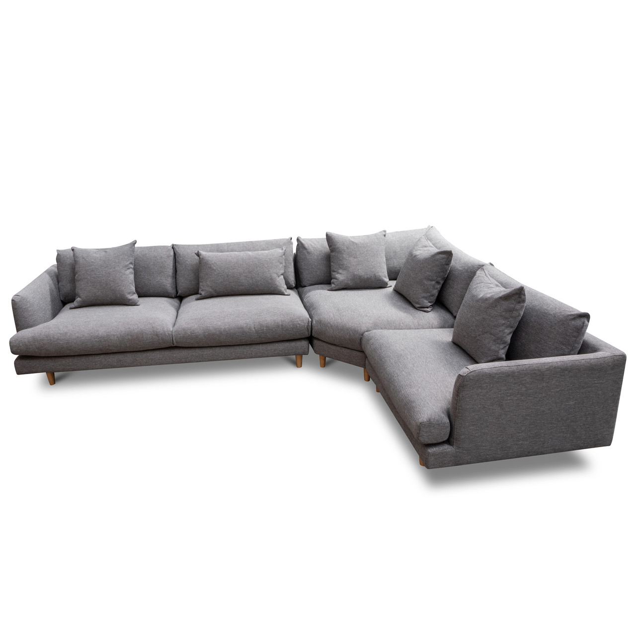 Clc2854 Ca Modular Sofa Graphite Grey Cf Milano Republic Furniture