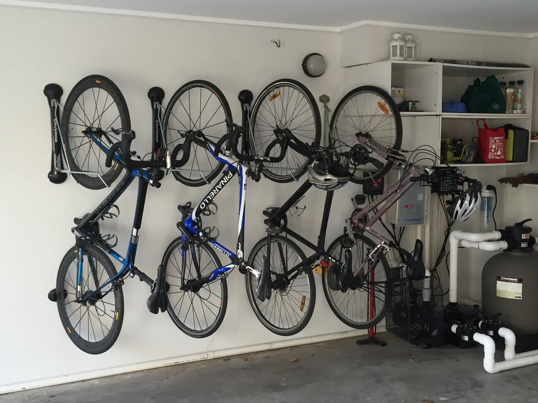 Tidy Garage Bike Rack Installation Compact Vertical Bike Rack Wall Mount