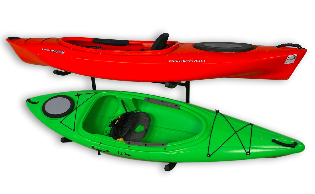 Kayak Indoor Outdoor Freestanding Kayak Rack Kayak Storage System