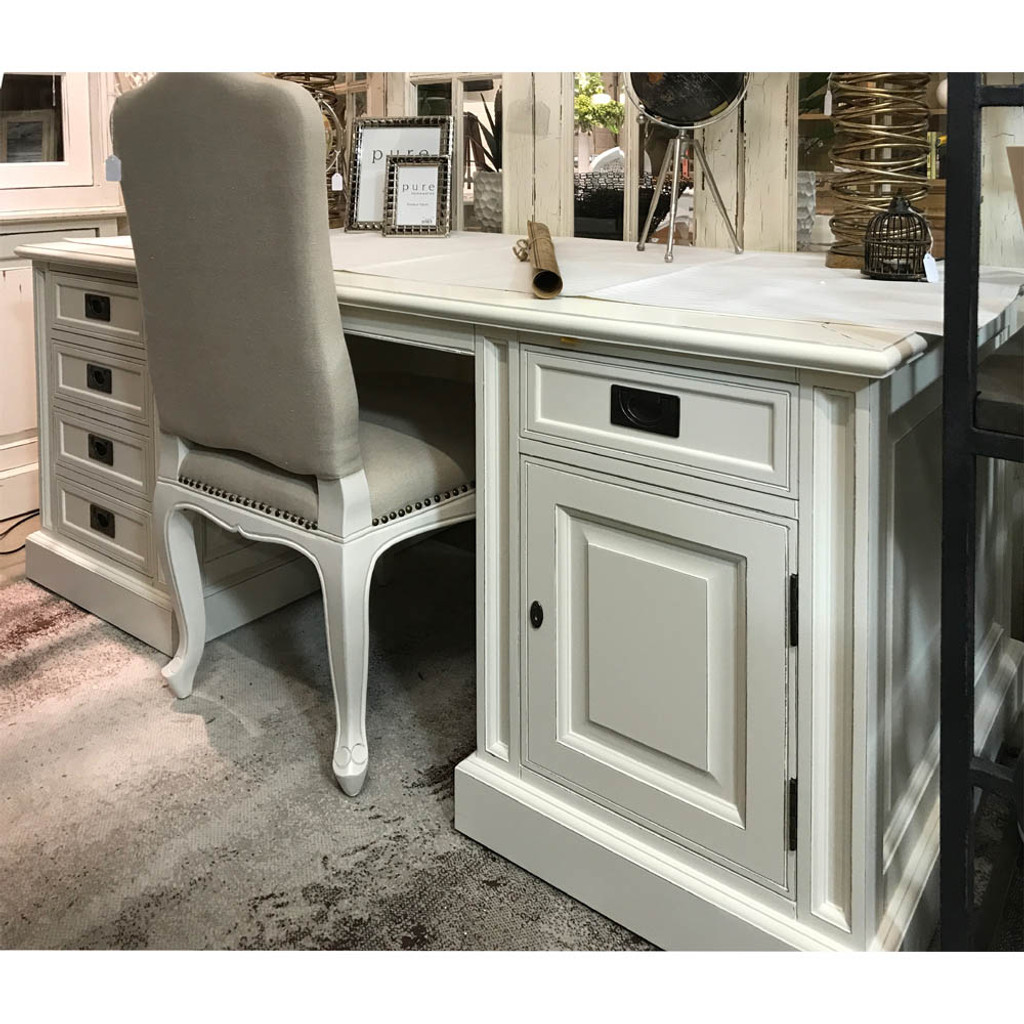 Classic Table Office Classic Writing Desk Antique White