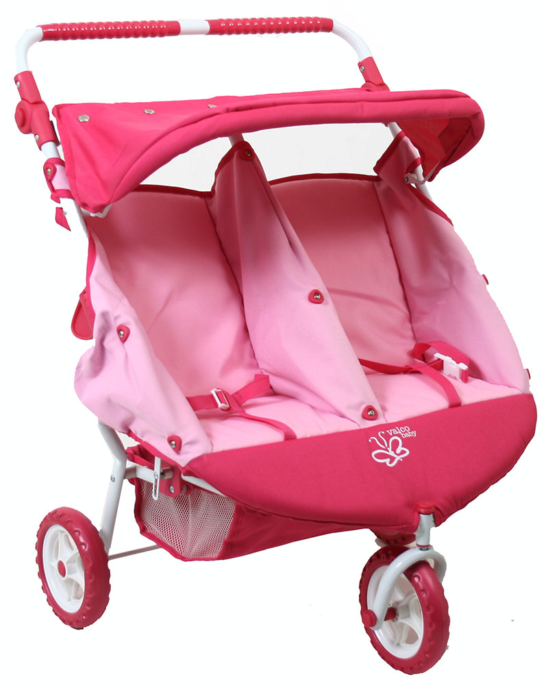 Double Pram Australia Reviews Twin Dolls Pram Mini Marathon Pink