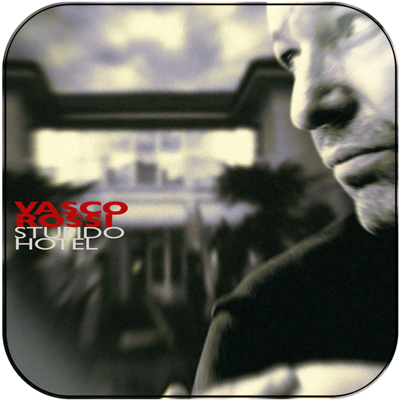 Rewind Vasco Rossi Vasco Rossi Stupido Hotel Album Cover Sticker Album Cover Sticker