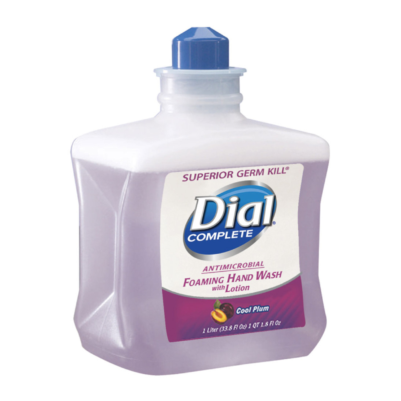 Hand Soap Refill Dial Foaming Hand Wash Refill Cool Plum Scent 1000 Ml Dia81033ct 4 Refills Case