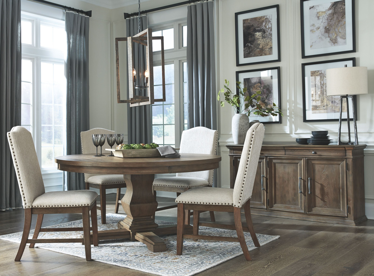 The Johnelle Gray 6 Pc Dining Room Table 4 Side Chairs Available At Furniture Connection Serving Clarksville Tennessee And Ft Campbell Kentucky