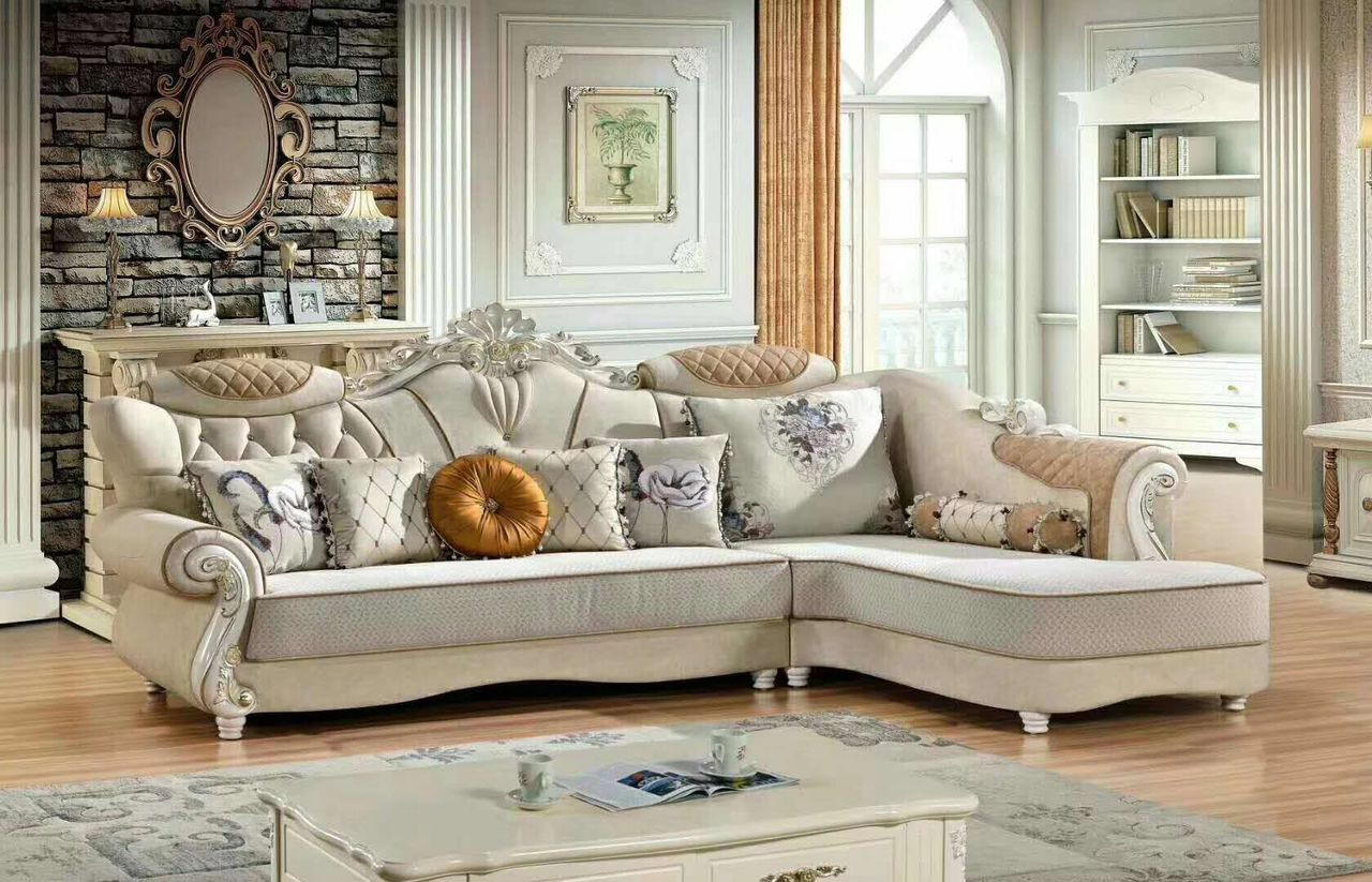 Lounge Sofa Sydney Delux Euro Design Fabric Lounges
