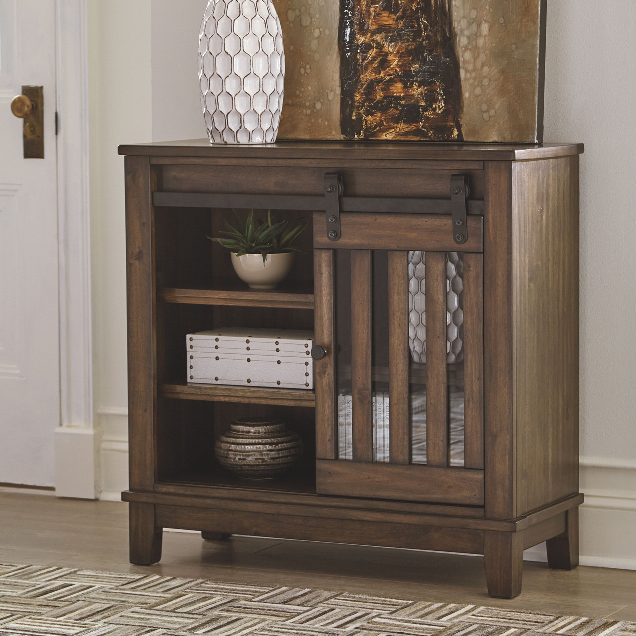 Brookport Brown Accent Cabinet On Sale At Stringer Furniture Serving Jackson Ms