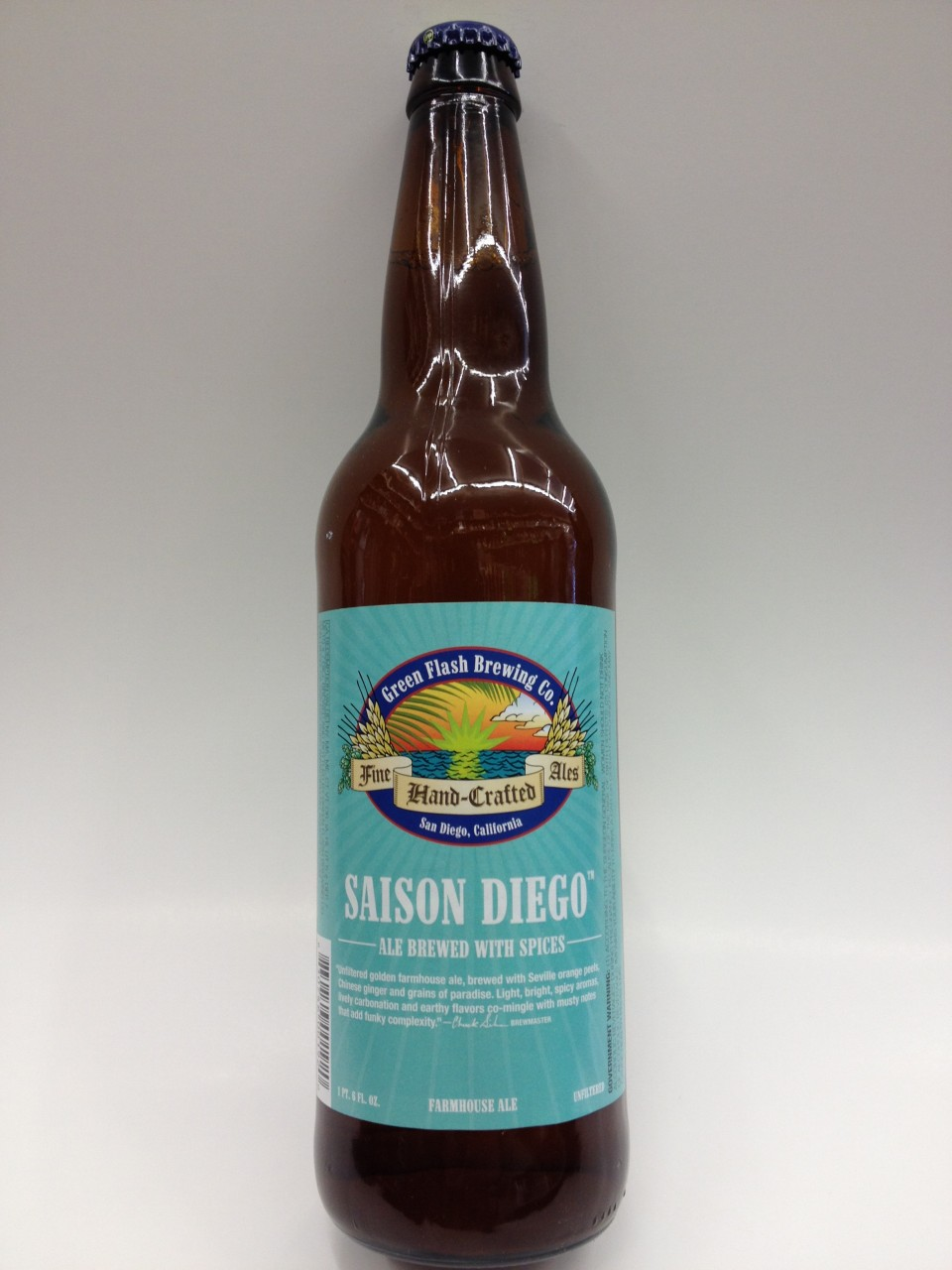 Saison Belgian Farmhouse Ale Green Flash Saison Diego 22oz