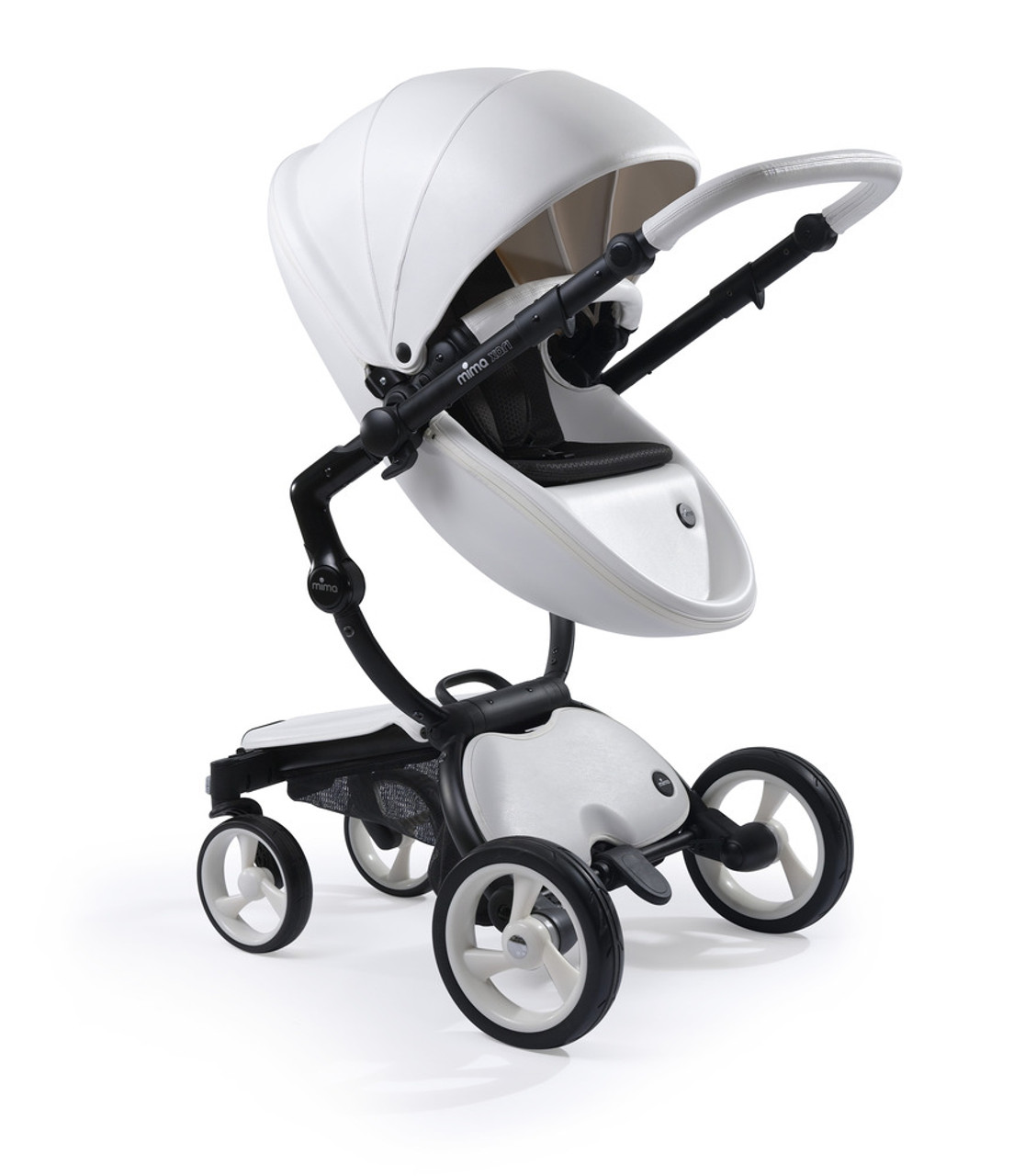 Mima Xari Seat Box 2 Snow-white Mima Xari Stroller Style And Sophistication