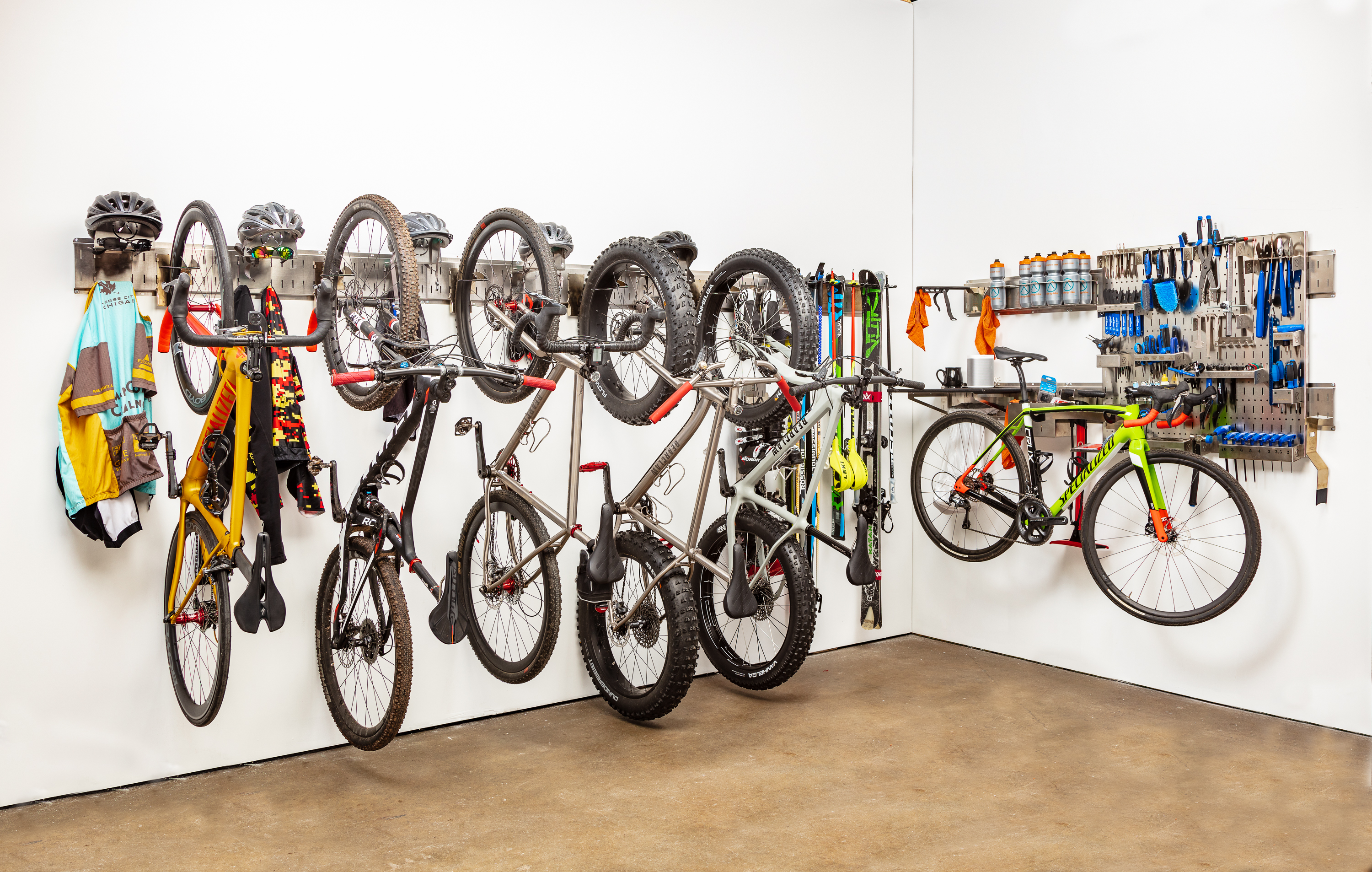 Garage Journal Bike Storage Bike Storage System Solution From Up Bike