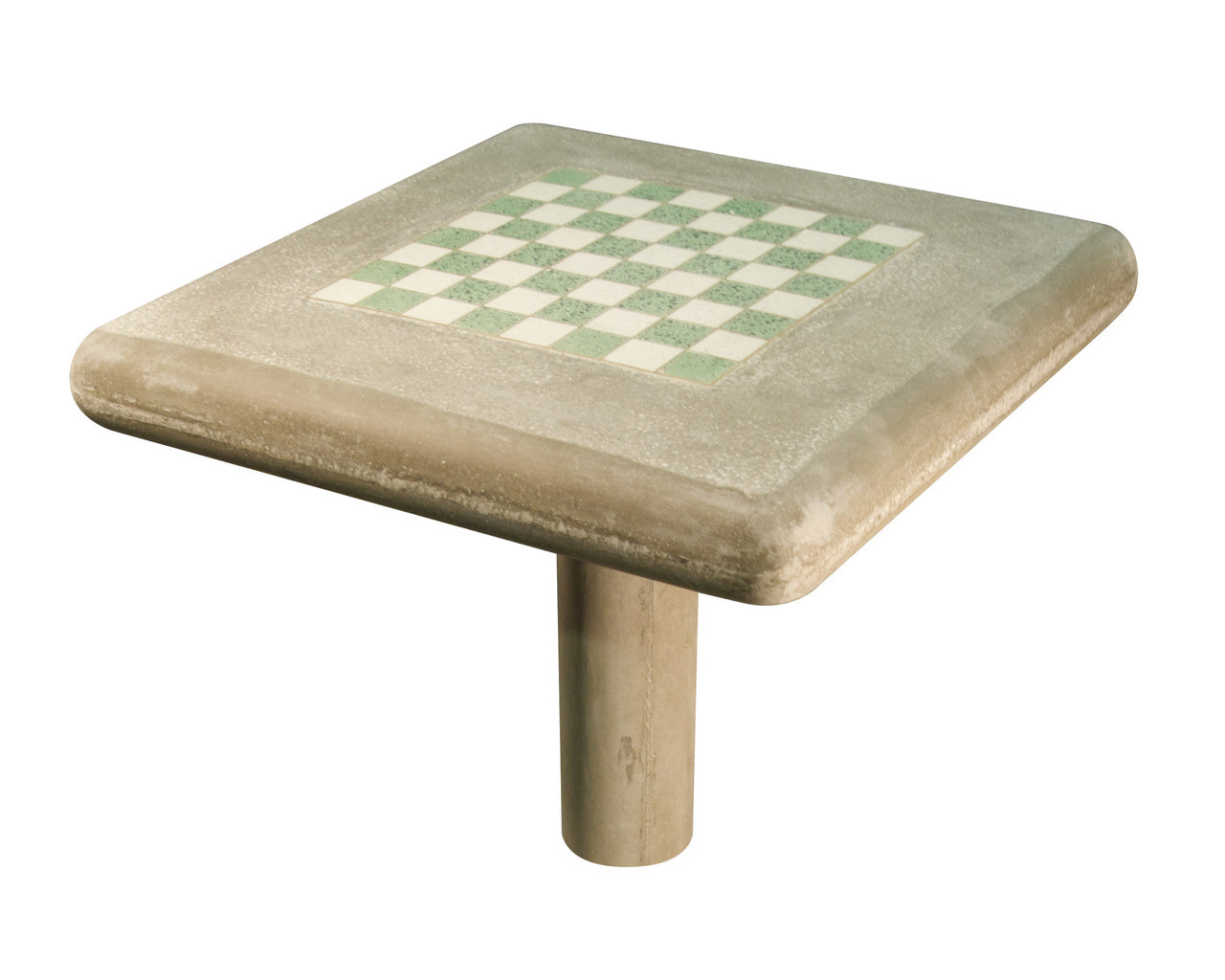 Chess Table Concrete Chess Table