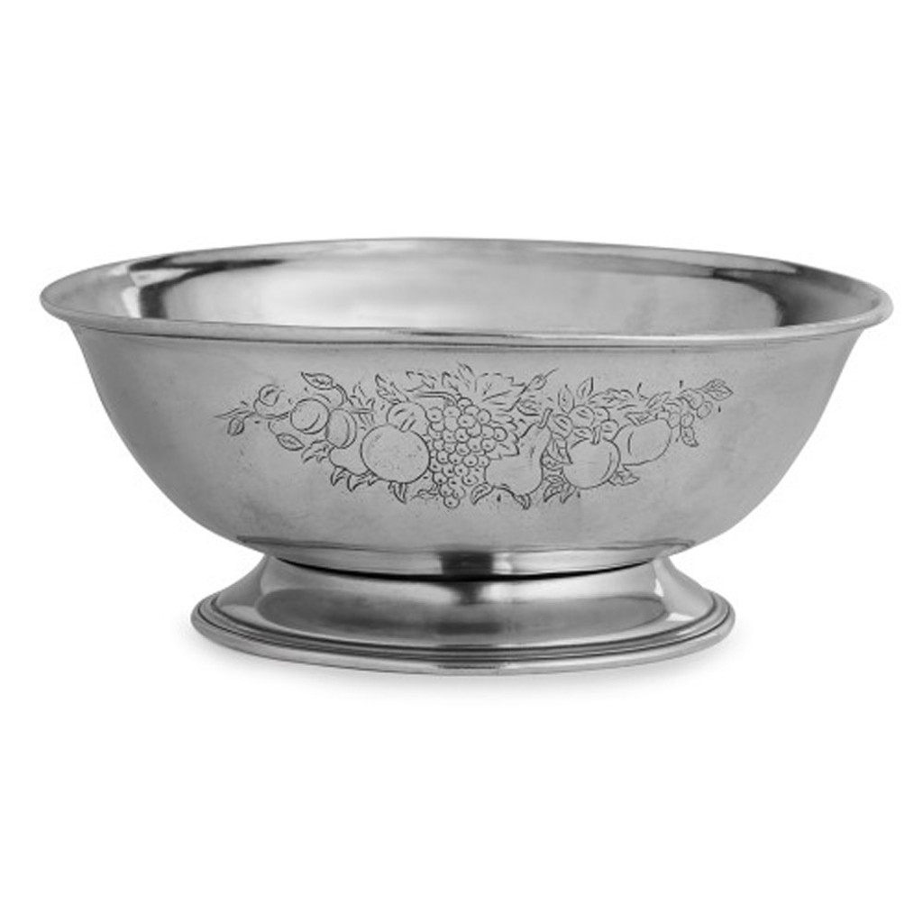 Arte Italica Customer Service Arte Italica Peltro Footed Fruit Bowl P2475