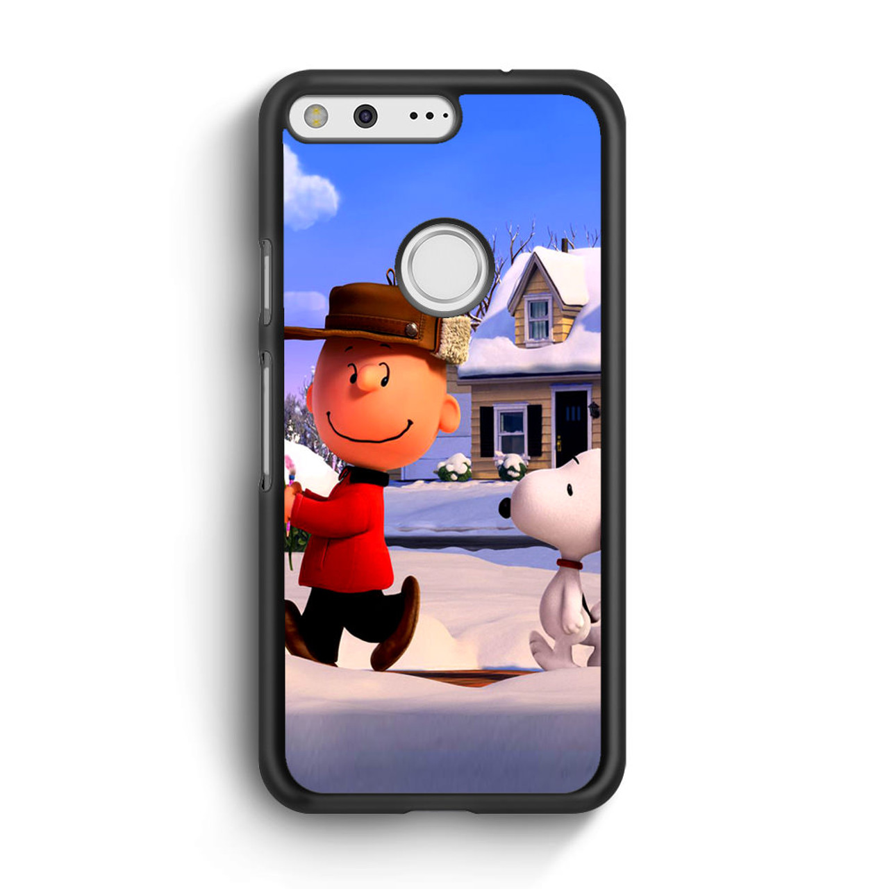 Xl Winter Snoopy Charlie Brown Winter Google Pixel Xl Case