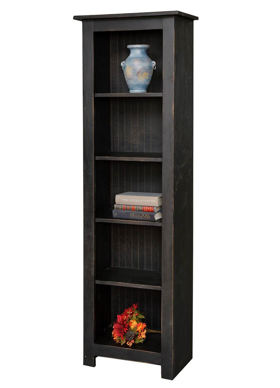 Vintage Bookcase Bookcase 6 Foot Narrow Vintage Creations By Sam