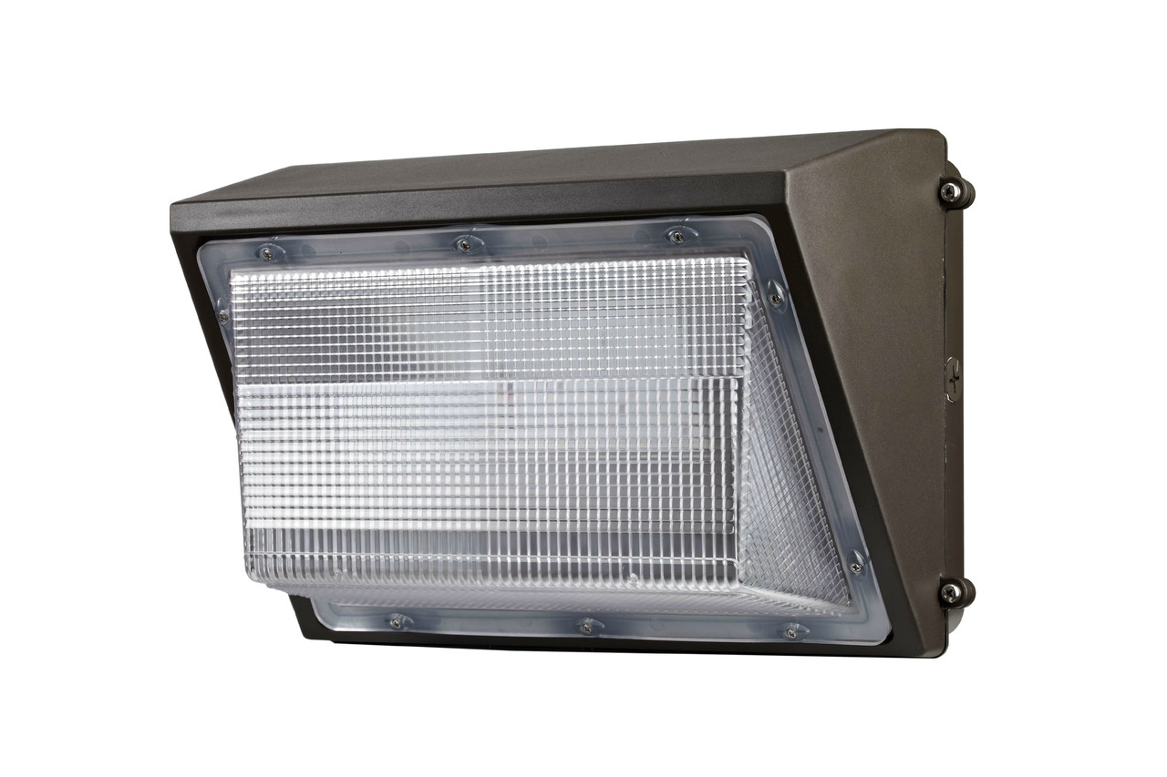 40 Watt In Lumen 40 Watt Led Wall Pack 4800 Lumen Dlc Listed Magnalux