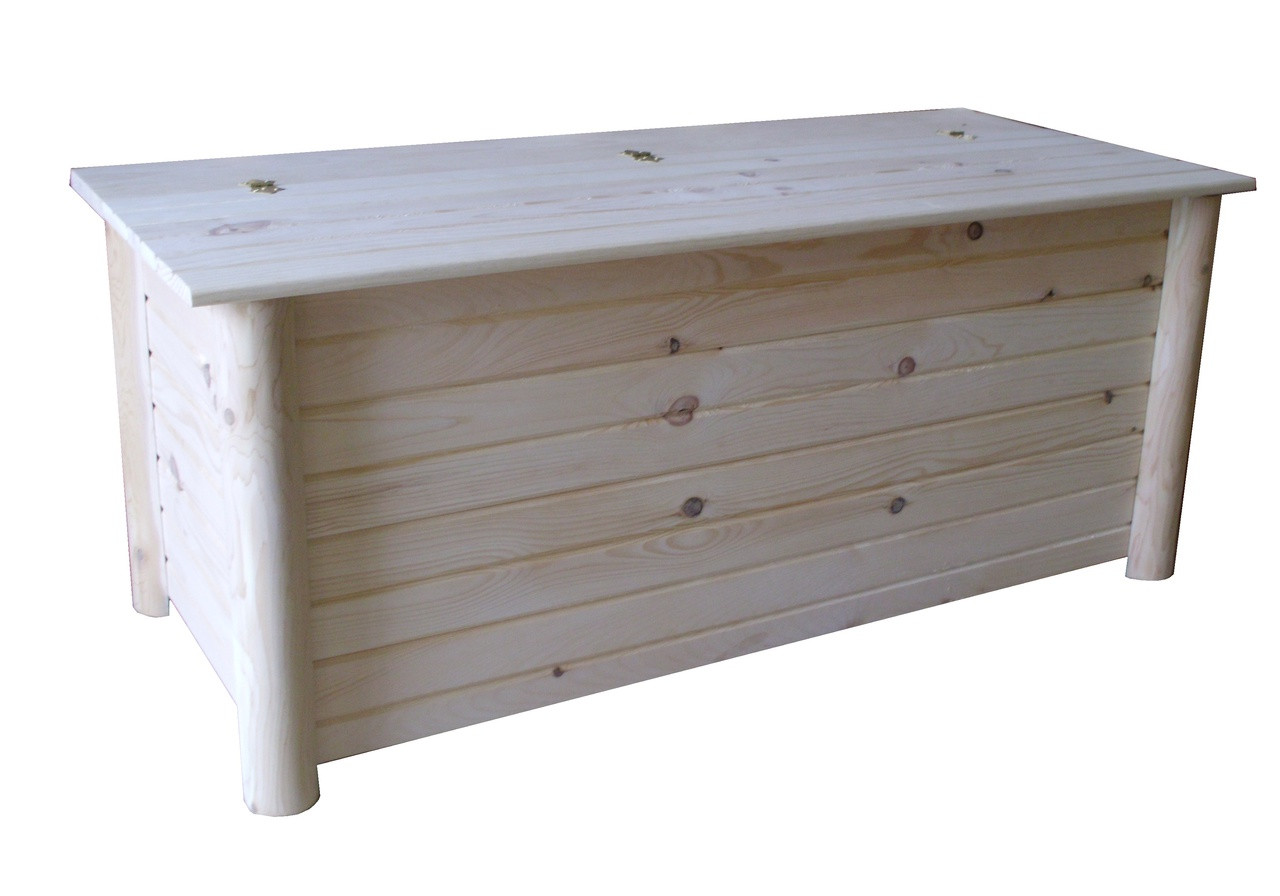 Wood Blanket Box Cedar Blanket Chest
