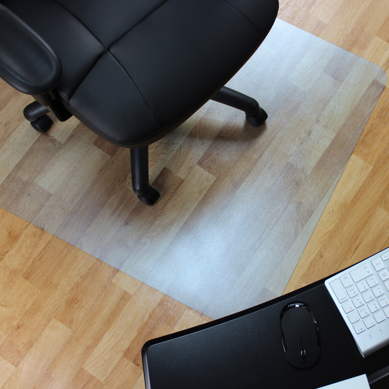 Vinyle Pvc Marvelux Vinyl Pvc Rectangular Chair Mat For Hard Floors Transparent Hardwood Floor Protector Multiple Sizes