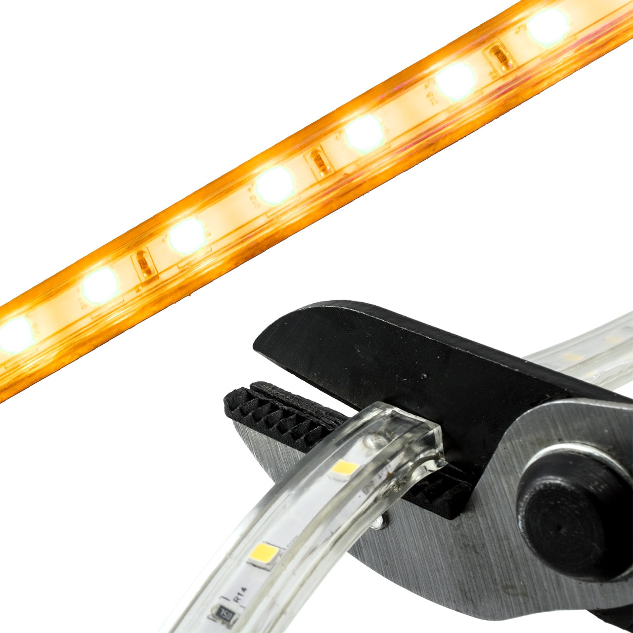 Yellow Led Lights Yellow Led Strip Light 120 Volt High Output Smd 5050