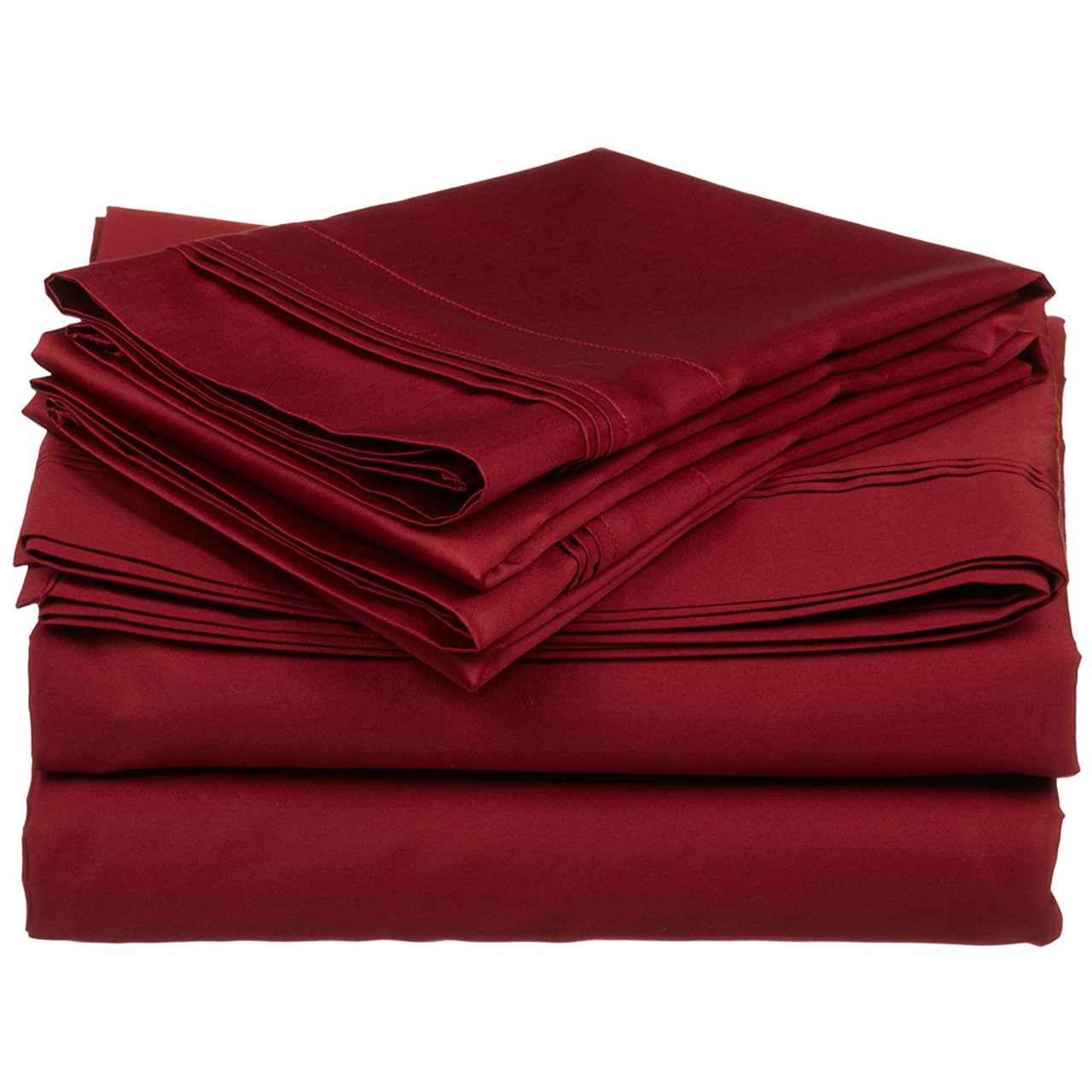 100 Egyptian Cotton Sheets Triple Pleated 600 Thread Count 100 Egyptian Cotton Sateen Sheets