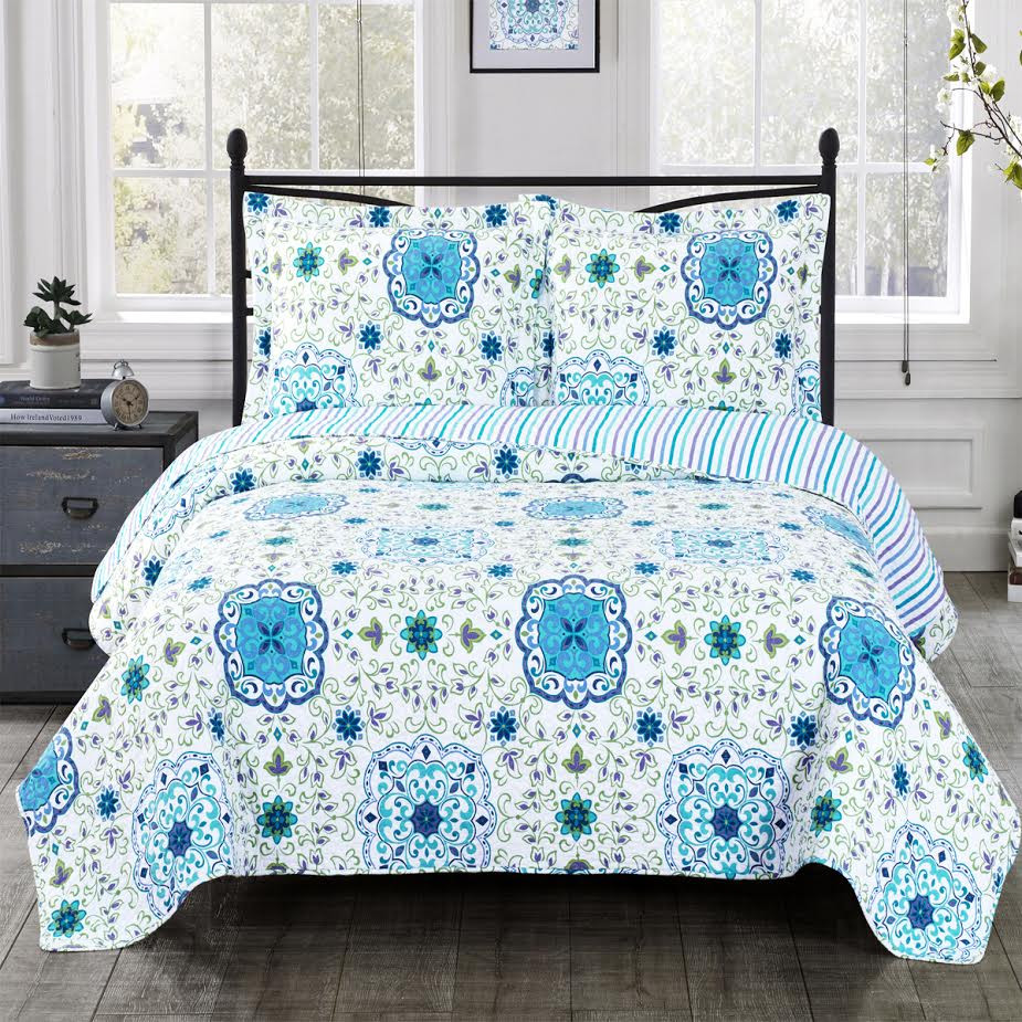 Quilt Sets Arielle Wrinkle Free Quilts Oversized In Twin Queen Or King Quilt Sets