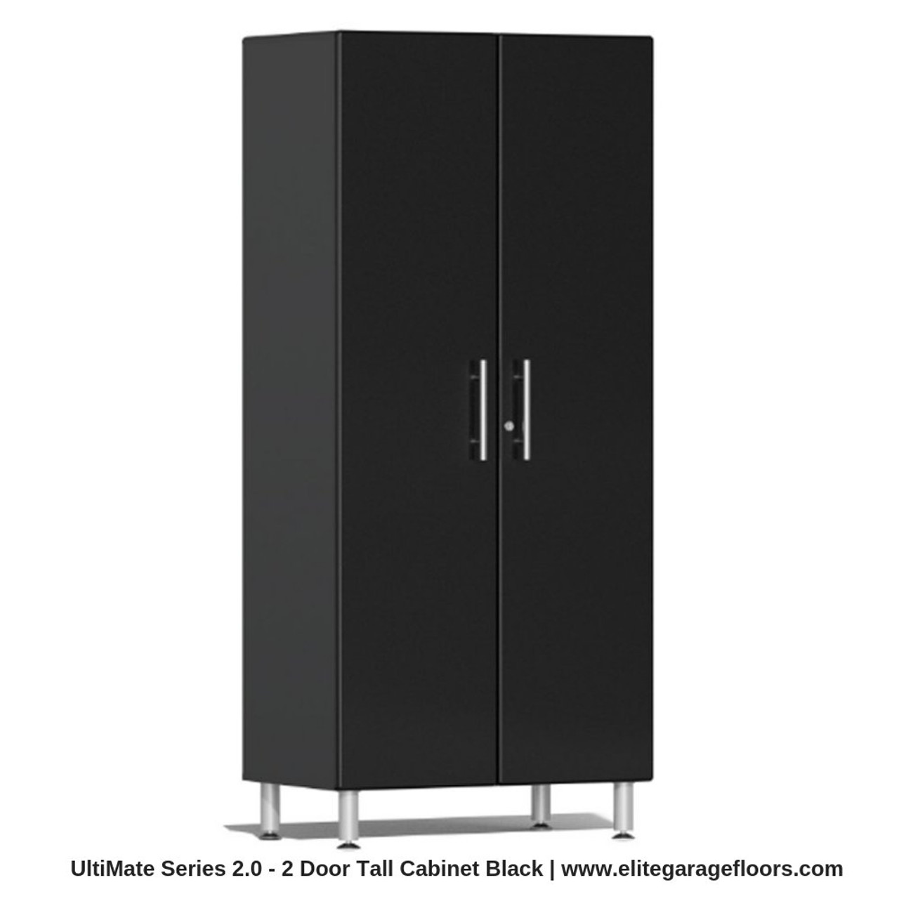 Ulti Mate Garage 2 Series 2 Door Tall Cabinet Garage Storage Cabinet