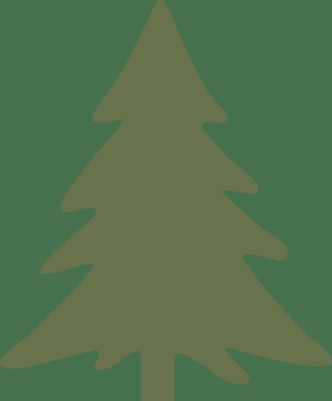 pine tree template free