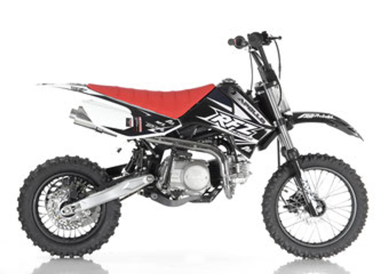 Motocross Garage Accessories Apollo Rfz Db X 6 125cc Automatic Pit Bike Free Shipping Fully Assembled Tested