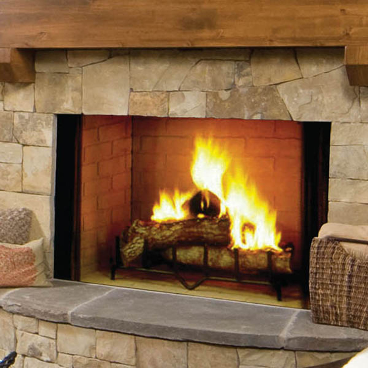 Fireplace Grate Blowers Wood Burning Majestic Biltmore Wood Burning Fireplaces 36