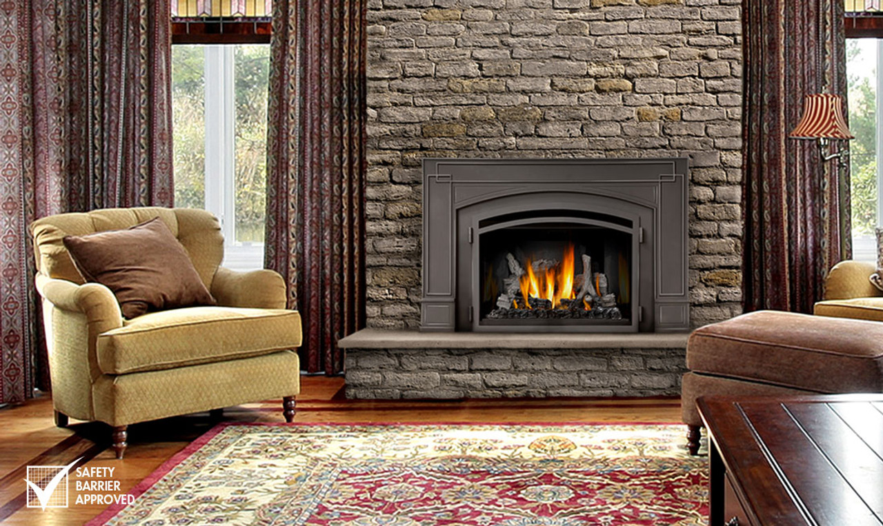 Napoleon Gas Fireplaces Napoleon Infrared 3 Gas Fireplace Insert Ir3